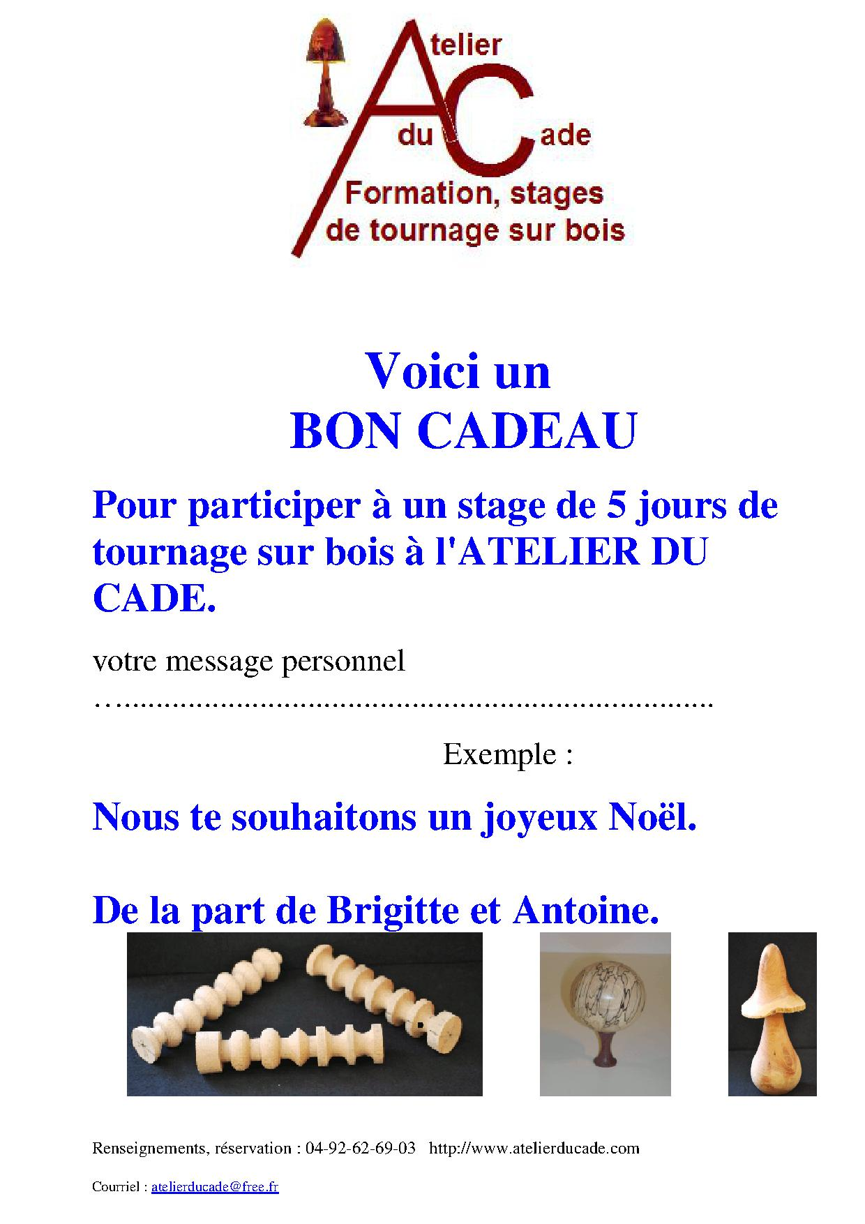 Formation Tournage Sur Bois - stages, formation de tournage sur bois, bons cadeaux tournage sur bois
